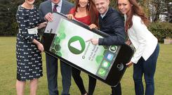Alex White TD ,Ruth Egan Fm104 , Nicky Byrne (RTE 2fm),and Becki Miller Spin 1038