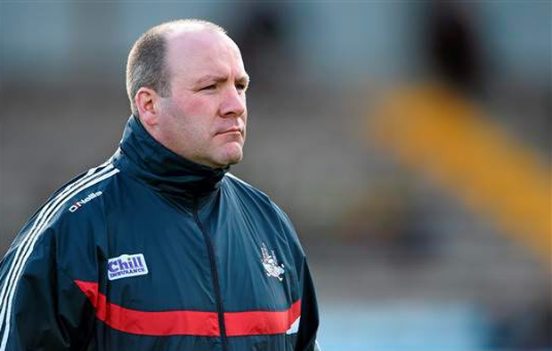 Cork manager Brian Cuthbert