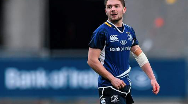 'Promising scrum-half' Charlie Rock, pictured playing for Leinster last year, comes in as the only uncapped (at this level) player in the squad (Pat Murphy / SPORTSFILE)