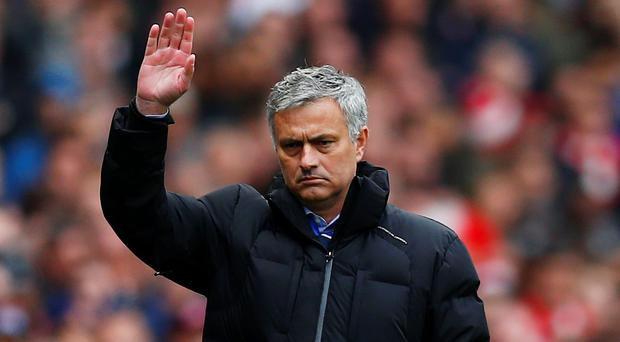 This was Jose Mourinho's dystopian moment, where he drew up his vision for what will become of football if it continues on this popular path (Reuters / Eddie Keogh)