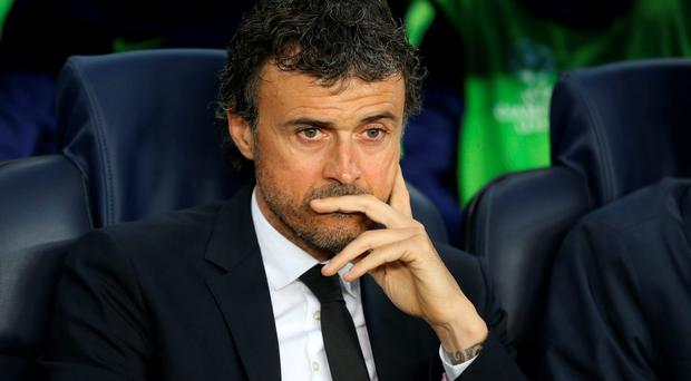 Luis Enrique: 'At this stage of the campaign, it's all about the wins and points.'