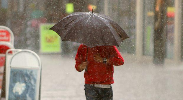 Keep the brolly handy - unsettled weather set to continue with more showers throughout the day