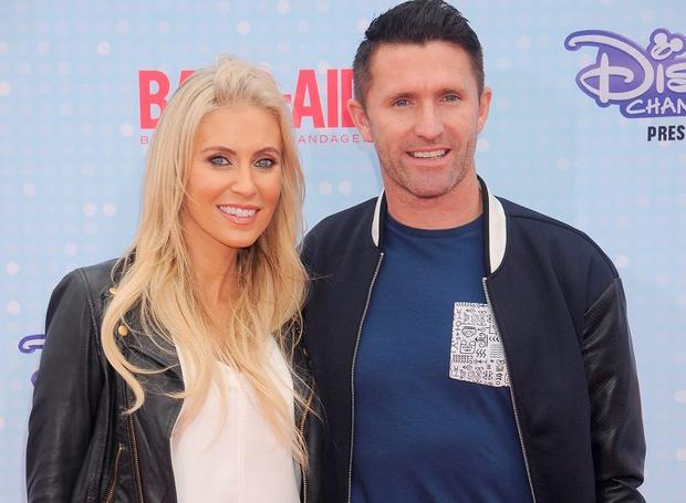 Robbie and Claudine Keane in LA