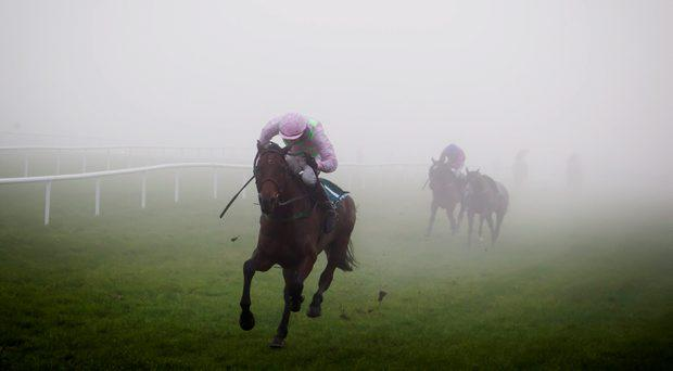 Djakadam and Ruby Walsh win the Thyestes Handicap Chase Gowran Park Photo: Patrick McCann 22.01.2015