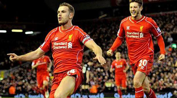 Liverpool's Jordan Henderson will probably be named captain when Gerrard departs - and would love to lead them in the Champions League