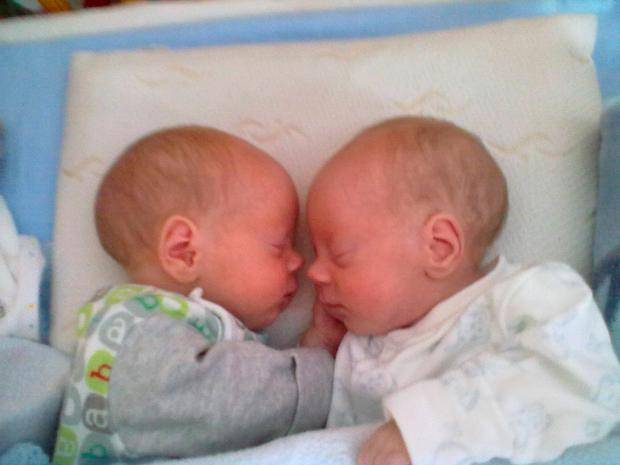 Twins Jacob and Alex Credit: Facebook/Alex's Wish to Walk