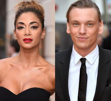 Nicole Scherzinger (left) and Jamie Campbell Bower (right)