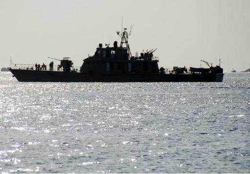 Iranian navy ship Credit: Reuters