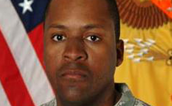 Sergeant First Class Randy Johnson died of his wounds after the IED detonated near his vehicle in Iraq. Pic: Telegraph