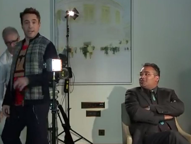 Avengers actor Downey Jr. walks off interview with Krishnan Guru-Murthy