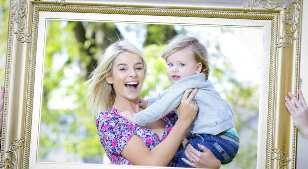 'Mumbassador' Pippa O'Connor and son, Ollie (2)