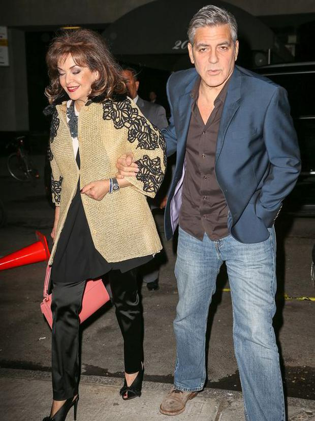 George Clooney and Baria Alamuddin