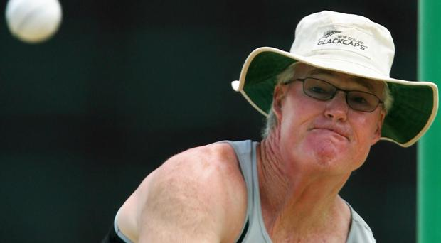 New Ireland coach John Bracewell