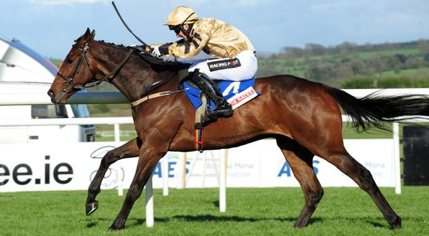 BELLSHILL & Patrick Mullins are easy winners of the Attheraces Champion INH Flat race.