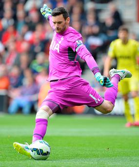 Spurs goalkeeper Hugo Lloris is on Real Madrid's radar
