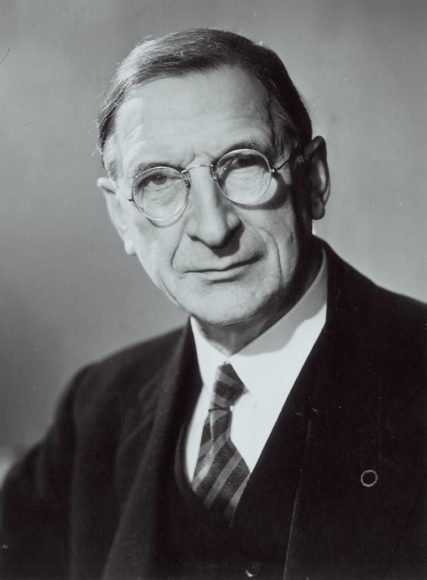Éamon de Valera: afforded the Allies all the help they needed