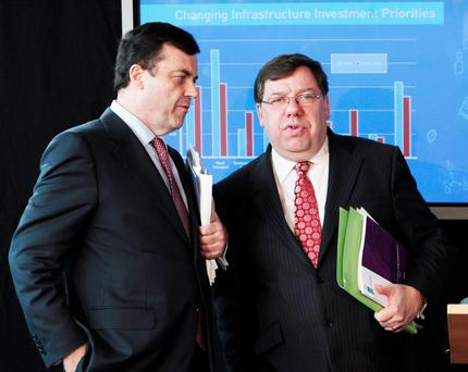 Decisions were made, and more than one fateful Rubicon was crossed as anxious bankers, advisors and officials conferred with Taoiseach Brian Cowen, and Finance Minister Brian Lenihan