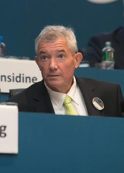 Bank of Ireland chief executive Richie Boucher said that while it keeps rates under review, it couldn't give any commitment