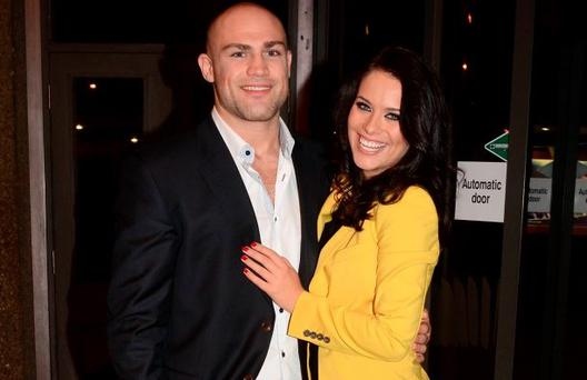 Cathal Pendred and Michele McGrath