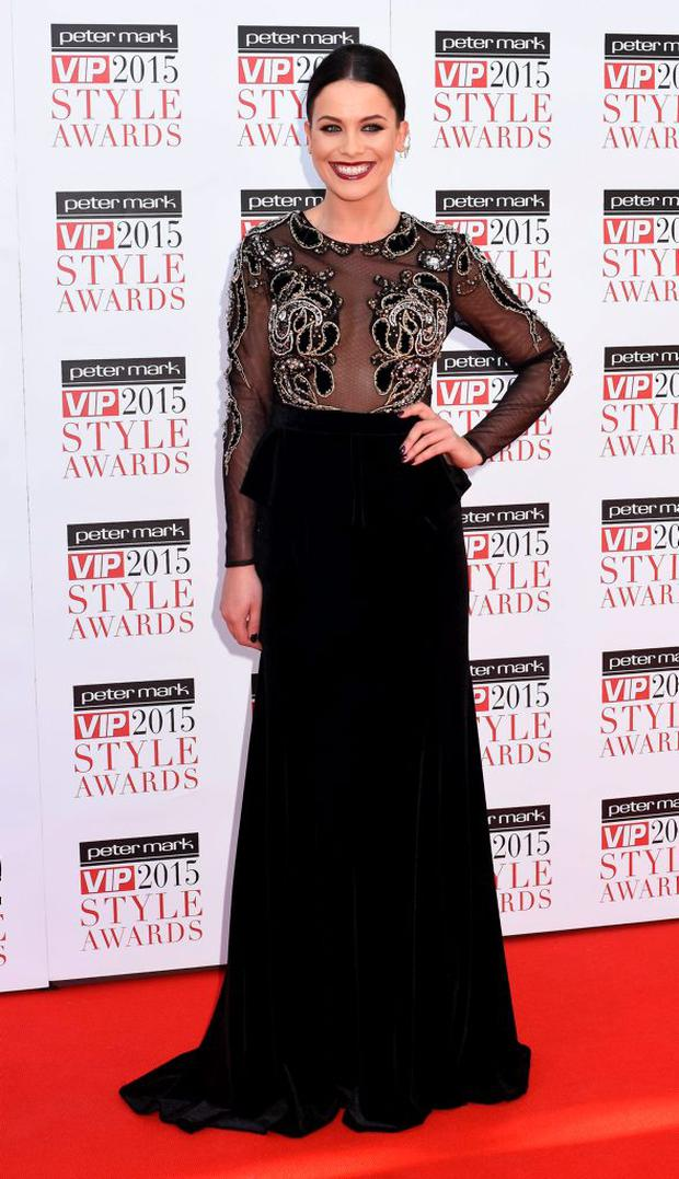 Michele McGrath at the VIP Style Awards 2015