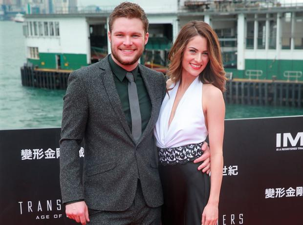 Jack Reynor (left) and Madeline Mulqueen (right)