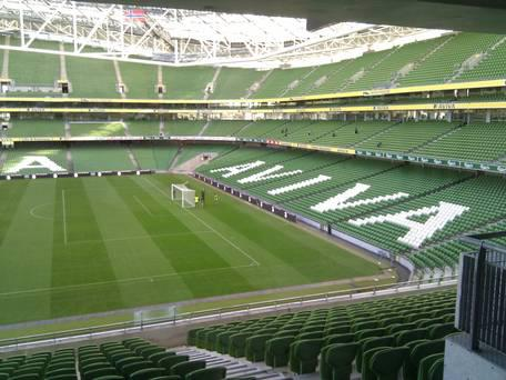 Ireland will take on Northern Ireland in a behind-closed-doors friendly at the Aviva Stadium in June