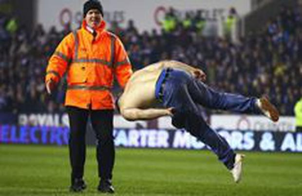 Charlie 'Sumner' Pudding has received a three-year ban for his FA Cup pitch invasion.