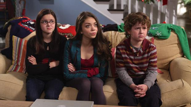 Ariel Winter (far left) as Alex Dunphy in Modern Family
