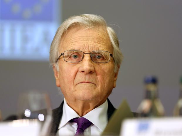 Jean-Claude Trichet, former President of the European Central Bank pictured before his address to the Institute and International and European Affairs and members of the Oireachtas Banking Inquiry at the Royal Hospital Kilmainham. Pic Frank Mc Grath