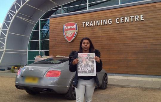 The mother of Arsenal footballer Ainsley Maitland-Niles