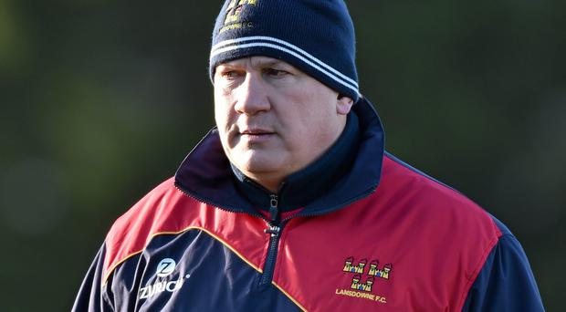 Lansdowne coach Mike Ruddock is relishing the opportunity of dethroning champions Clontarf