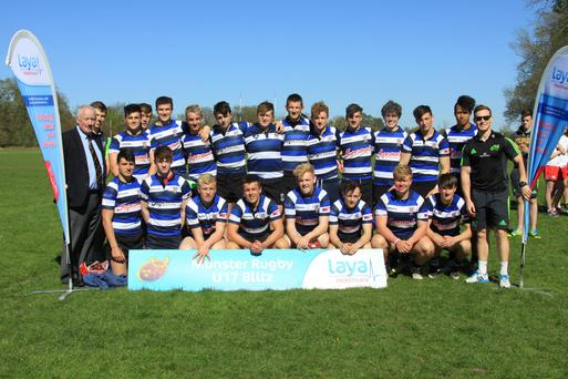 The Crescent College side that won the 'A' section of the blitz