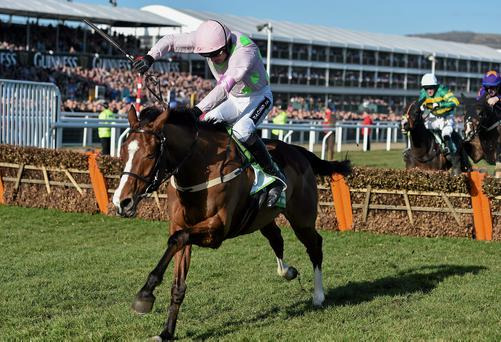 If Faugheen is on his game and jumps around, he won't be troubled by any of his rivals