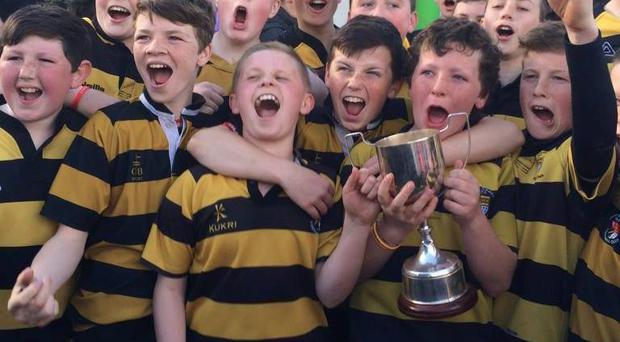 Carlow U-13's Division 1 Cup champions