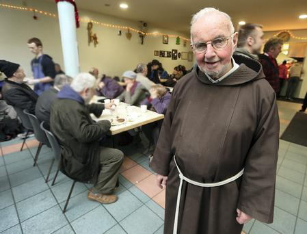 Br Kevin Crowley, founder of the Capuchin Day Centre in Dublin