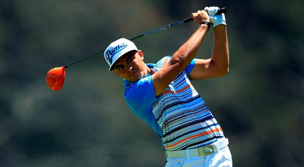 Rickie Fowler won his match against Shane Lowry by one hole at the WGC-Cadillac Match Play Championship