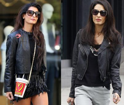Tala Alamuddin (left) and her famous sister Amal (right)