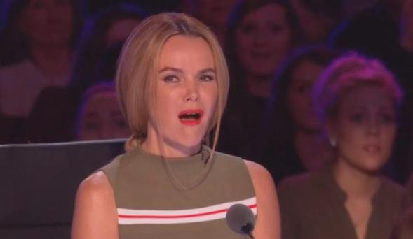 Amanda Holden reacts to Aaron Marshall singing 'Let it Go' from Frozen