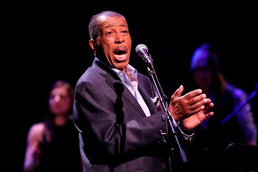Ben E. King performs during the 34th Annual John Lennon Tribute Benefit Concert at Symphony Space on December 5, 2014 in New York City. (Photo by Taylor Hill/FilmMagic)