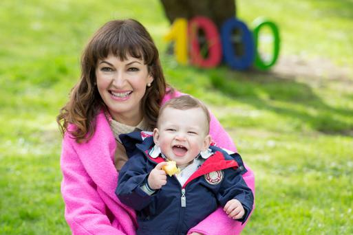 Broadcaster and First 1000 Days ambassador Maura Derrane has introduced her son Cal for the first time today. As an ambassador for the movement, Maura hopes to inspire and educate other mothers across Ireland of the importance of good nutrition during the First 1000 Days of a child's life, from pregnancy up to two years of age. Pic:Naoise Culhane