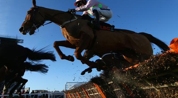 Ruby Walsh riding Annie Power on day one of this year's Cheltenham festival