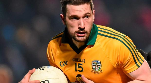 Mickey Newman's injury makes him a doubt for Meath's Leinster quarter-final next month