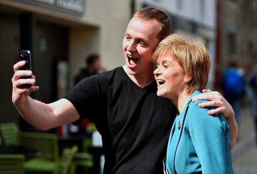 'Nicola Sturgeon and her Scottish National Party look likely to be the kingmakers.'