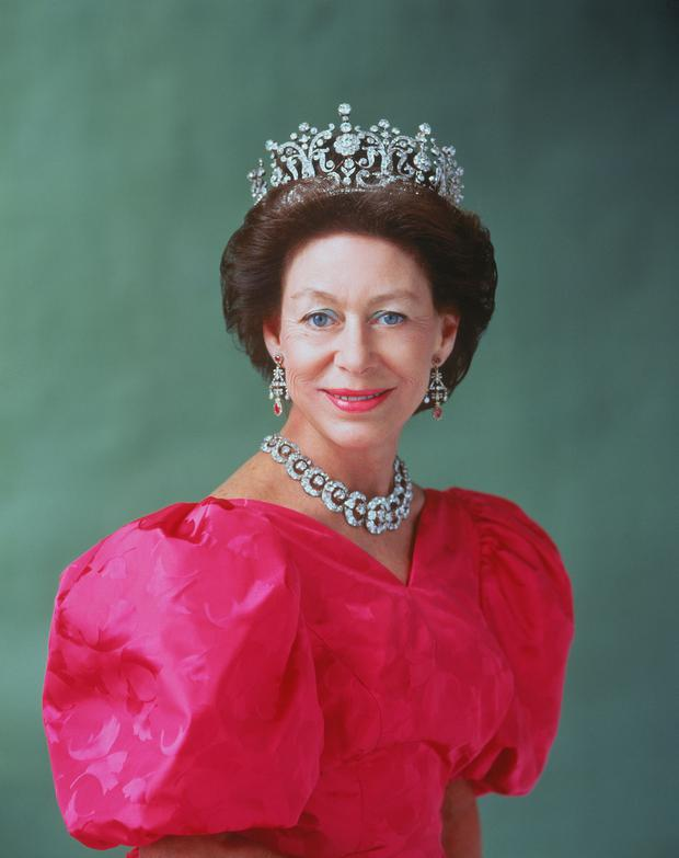 HRH Princess Margaret.