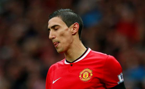Angel DI MARIA will report for duty with Manchester United in California today despite Paris Saint-Germain intensifying their efforts to sign the Argentinian.