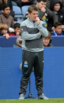 Embattled Newcastle manager John Carver