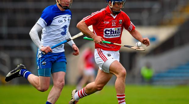 Rob O'Shea in action for Cork