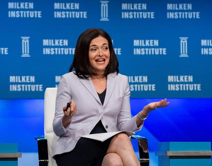 Sheryl Sandberg, Chief Operating Officer of Facebook REUTERS/Mario Anzuoni