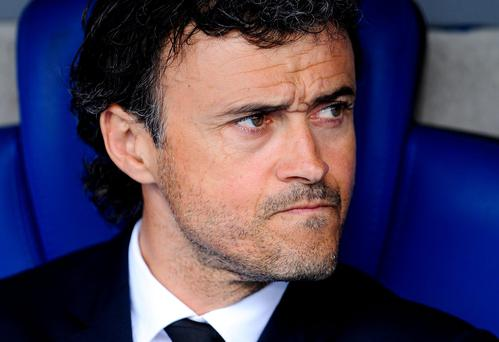 Luis Enrique has brought Barcelona back to the top of La Liga