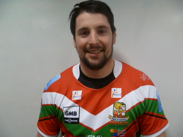 Danny Jones Pic: Keighley Courgars
